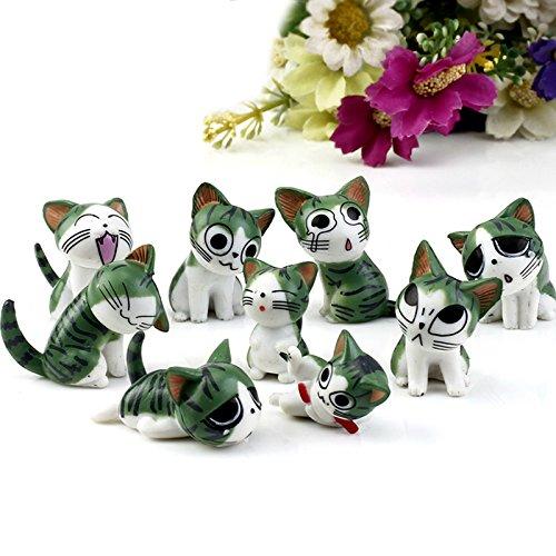 [9Pcs/Set Resin Chi's Sweet Home Garden Decoration Ornaments Mini Crafts Bonsai Micro Landscape] (Fairy Bread Costume)