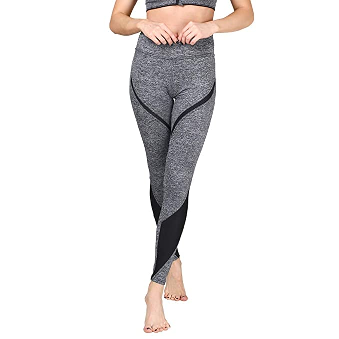 F/_Gotal Womens Quick Dry Yoga Pants High Waist Tummy Control Stretchy Workout Leggings Athletic Gym Jogger Sweatpants