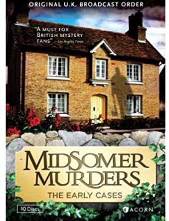 Amazon Midsomer Murders The Early Cases Collection Reissue