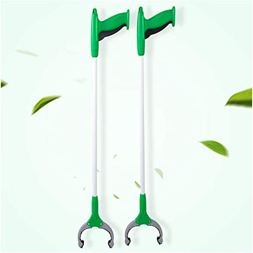 for Elderly After Hip or Knee Replacement- Tool for Elderly,Green Litter Picker With Magnetic Pick-Up Litter Picker Grabber Lightweight DGYAXIN Litter Picker Pack of 2