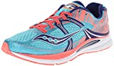 Saucony Women's Fastwitch Road Racing Shoe,Blue/Pink,6 M US