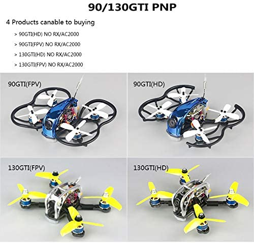 LDARC 130GTI HD/FPV 133mm Whoop FPV Racing Drone Cinewhoop BNF/PNP ...