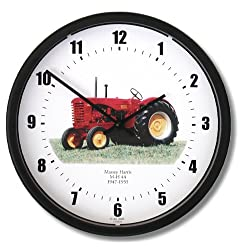 New Massey Harris Model 44 (1947-1955) Tractor Wall Clock 10