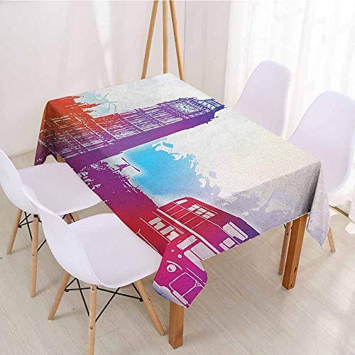 ScottDecor Table Cover Christmas Tablecloth W 70