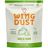Garlic Parmesan Buffalo Wing Dust 5 oz. Bag - (Enough for 10-15lbs of Wings) - Gluten & MSG Free