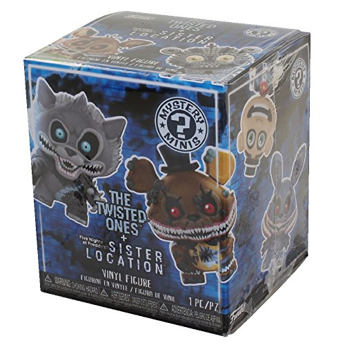 Funko Mystery Mini: Five Nights at Freddy's Twisted Ones (one Mystery Figure) Collectible Figure, Multicolor ()