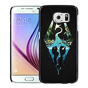 Newest and Fashionable Case skyrim Black Phone Case for Samsung Galaxy S6