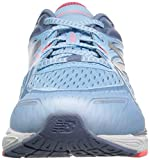 New Balance Unisex Kid's 860v8 Running-Shoes, Clear Sky/Guava, 1 W US Little Kid