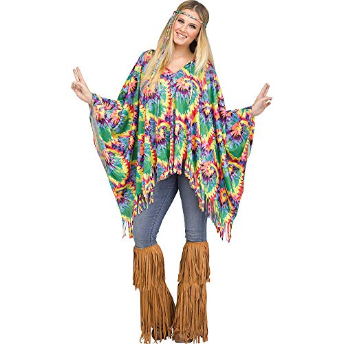 Hippie Costumes Kit - Holiday Times Unlimited Tie-Dye Costume Accessory