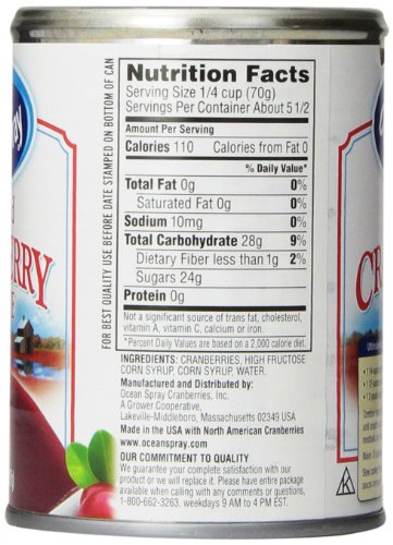031200016058 - Ocean Spray Cranberry Sauce, Jellied, 14 Fl Oz carousel main 5