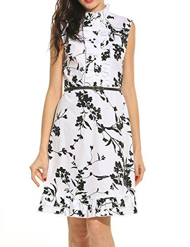 Buy belted maxi shirt dress - 1