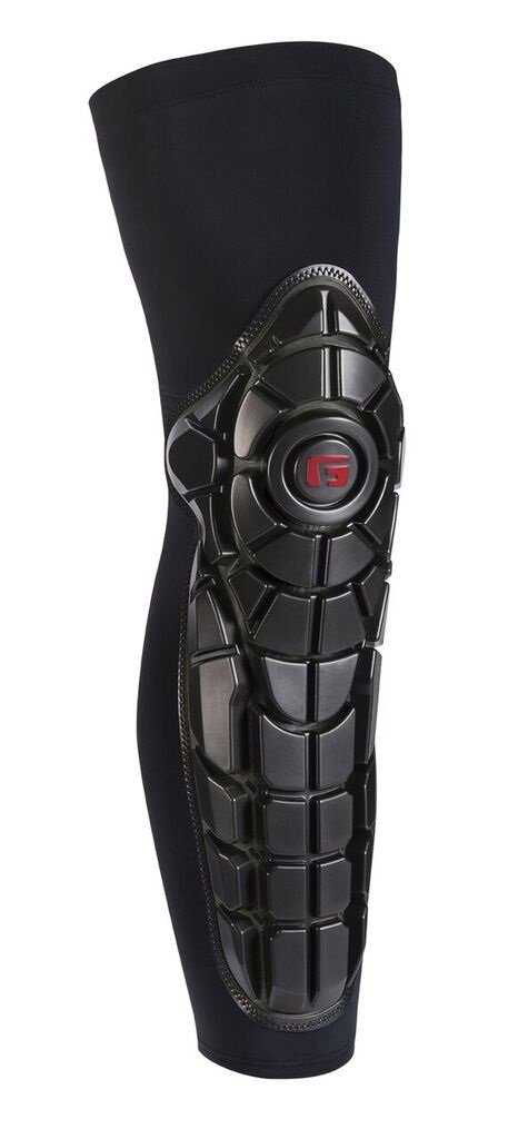 G-Form Youth Pro-X Knee Shin Guards (Black, S/M)
