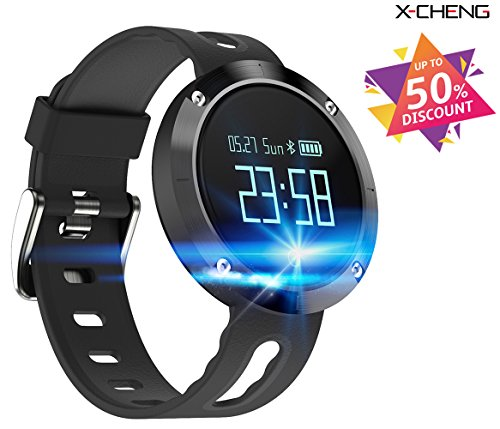X-CHENG Fitness Tracker- Activity Monitor and Sleeping Management - Heart rate monitor Blood...