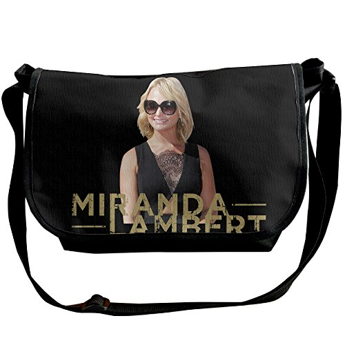 Amurder Personalized Coutry Music Miranda Lambert Messenger Shoulder Bag Black