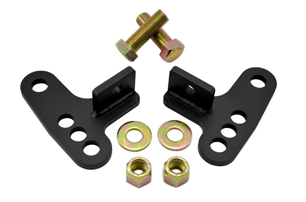 88-99 Harley Davidson SPORTSTER Sporty Rear Adjustable Slam LOWERING KIT Blocks 1 - 3 inches 1\' 2\' 3\' for Sportster 883 XLH883 Deluxe Hugger 88 89 90 91 92 93 94 95 96 97 98 99 1988 1989 1990 1991 1992 1993 1994 1995 1996 1997 1998 1999 VMS Racing