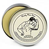 Manly Man Soap-100% Natural Skin Care Bar. Scented with Essential Oils. One 4 oz Bar in a Handy Travel Gift Tin. Great For Men, Guys, Workout, Muscle, Exercise Lovers.