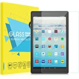 "Fire HD 10 2017 Screen Protector, MoKo [Scratch Terminator][Full Coverage] Premium HD Clear 9H Hardness Tempered Glass Tablet Screen Protector Film for Amazon Fire HD 10"" (7th Gen - 2017 Release)"