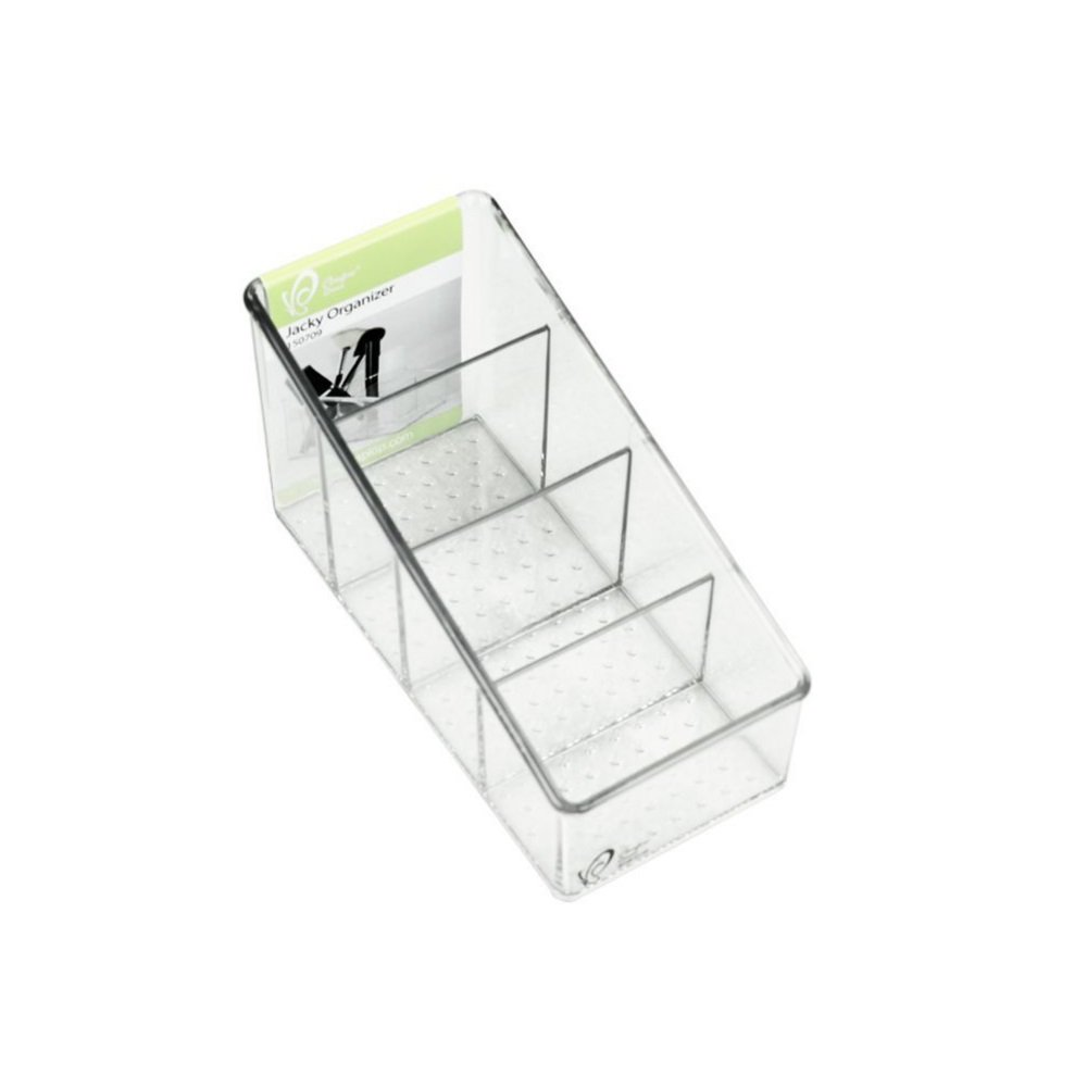 Mocase Clear Remote Control Organizer Desk Storage Holder