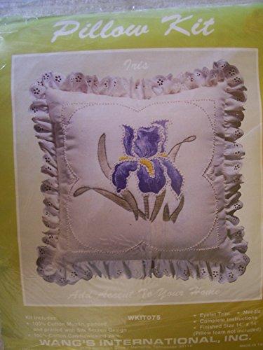 Iris Candlewicking Pillow Kit ()
