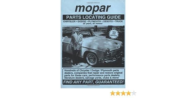 Mopar / Chrysler / Dodge / Plymouth / DeSoto / Truck Parts
