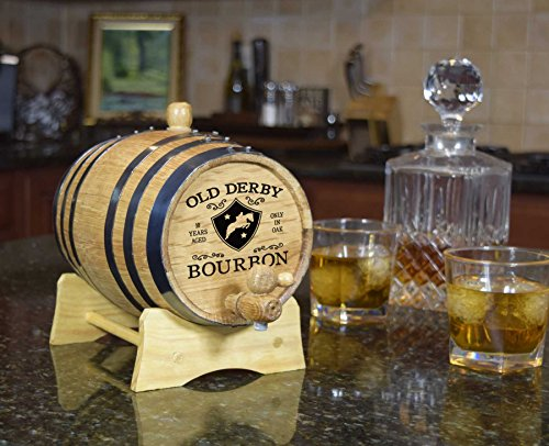THOUSAND OAKS BARREL Decorative Bourbon Barrel (B245) by THOUSAND OAKS BARREL