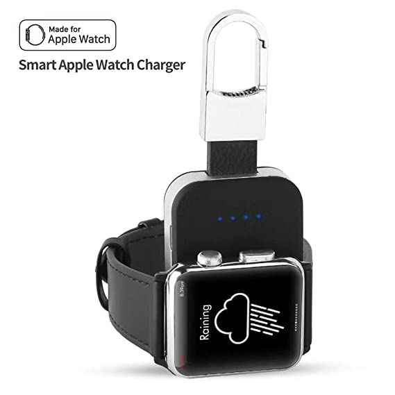 Mandarooker Compatible Wireless Portable Smart Watch Magnetic Charger, Wireless Charger Pocket-Sized Wireless Portable Battery Replacement for Apple ...