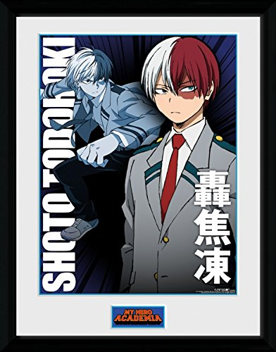 Amazon Com My Hero Academia Framed Collector Poster Shoto