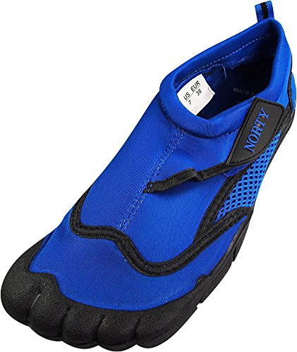NORTY Young Mens Skeletoe Aqua Wave Water Shoes