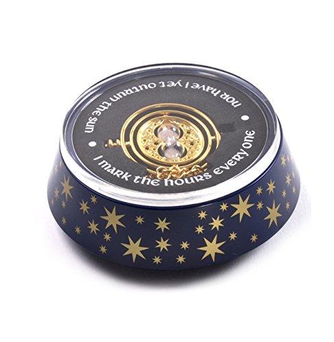 24k Gold Plated Figure - Noble Collection - Réplique Harry Potter - Retourneur du Temps Edition Spéciale - 0849241002448