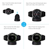 LANMU Charger for Samsung Gear S3,Charging Dock
