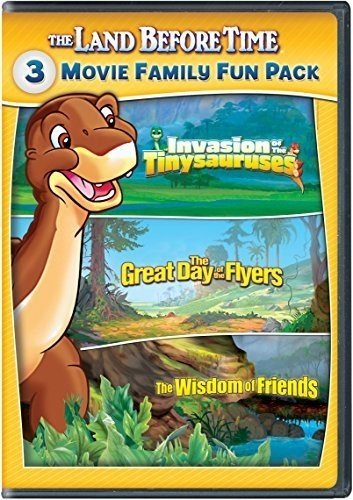 The Land Before Time XI-XIII 3-Movie Family Fun Pack (Invasion of the Tinysauruses / The Great Day of the Flyers / The Wisdom of Friends) (The Land Before Time Invasion Of The Tinysauruses)