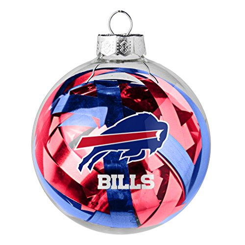 NFL Buffalo Bills Large Tinsel Ball Ornament