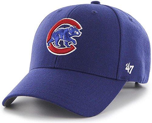 '47 Forty Seven Brand Chicago Cubs Curved Visor Velcroback Cap MLB Limited ()