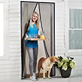 Magnetic Screen Door, Keeps The Fresh Air In and The Bugs Out Screen Door, Heavy Duty Reinforced Mesh Screen, Fits Door Up To 36 x 84-Inch
