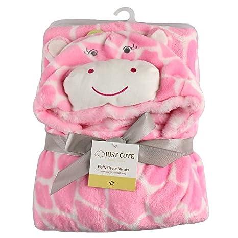 Tongchou Baby Infant Newborn Bathrobe Hooded Flannel Fleece Bathing Wrap Blanket Panda