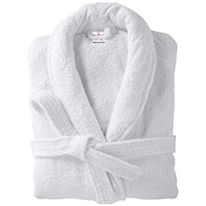 Ss Terry Towelling Bathrobes 100% cotton in 2 sizes Plain Bath robes ... 0099d2ad2