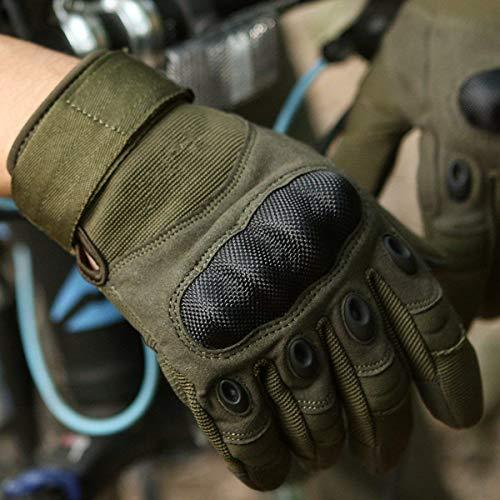 Avril Tian Gants, tactique militaire Armée en caoutchouc rigide Knuckle extérieur Full Finger Gants pour écran tactile… 5