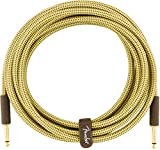 Fender Deluxe Instrument Cable - Tweed, 15 feet