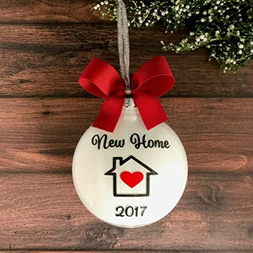New Home Ornament 2019, Housewarming Gifts For New Home Personalized (Best Client Gifts 2019)