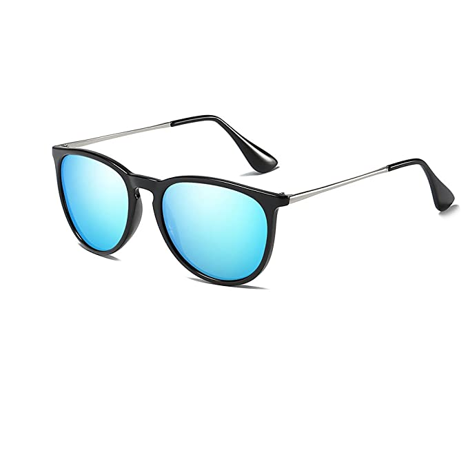 5040a59b2d3 Image Unavailable. Image not available for. Color  FAGUMA Vintage Round  Sunglasses for Women Retro Erika Style Shades
