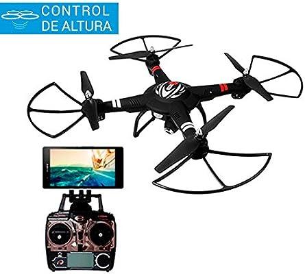 Wltoys Q303 Drone FPV a Móvil | Cámara HD | Control de Altura ...