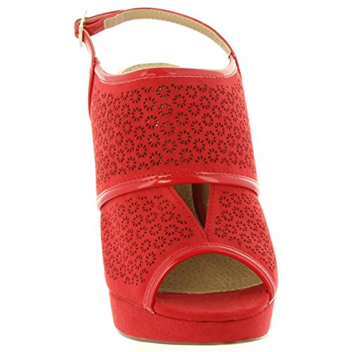 Maria Mare Women Sandals 67099 C23988 Rojo sF3brJp0