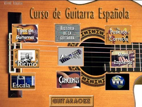 CURSO DE GUITARRA ESPAÑOLA PC, en Español: Amazon.es: Software