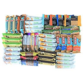Healthy Snack Bars To Go Box (45 count)