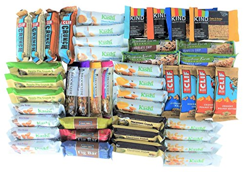 Healthy Snack Bars To Go Box (45 count) by Custom Variety Pack