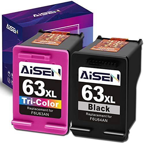 Best hp printer ink 63 xl color for 2020