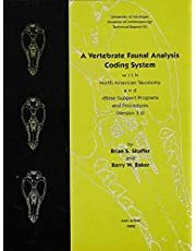 A Vertebrate Faunal Analysis Coding System, with North American Taxonomy and dBase Support Programs and Procedures (Version 3.3) (Volume 23)