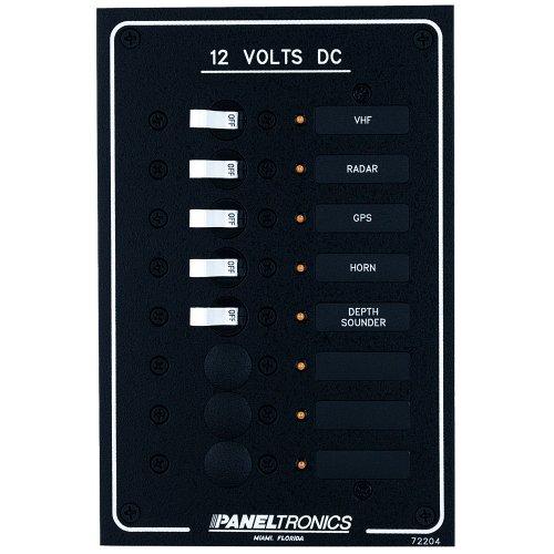 (Paneltronics Standard DC 8 Position Breaker Panel w/LEDs)