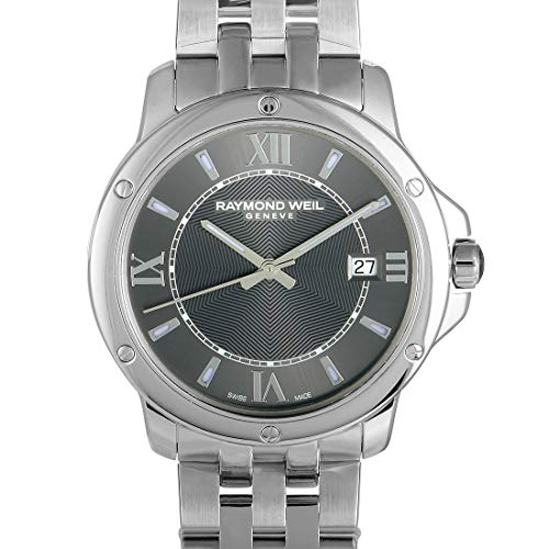 Tango Gray Dial Stainless Steel Mens Watch - Raymond Weil 5591-ST-00607