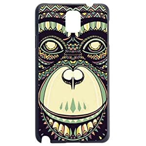Fashion Personality Vintage Pattern Aztec Animal Monkey Hard Back Plastic Case Cover Skin Protector For Samsung Galaxy S5 i9600 by Alexism